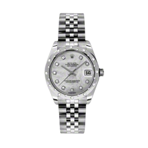 Ladies Midsize Stainless Steel Datejusts