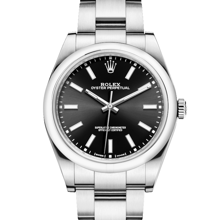 Rolex Oyster Perpetual 114300 39mm Stainless Steel w/ Black Dial on an Oyster Bracelet - UNUSED