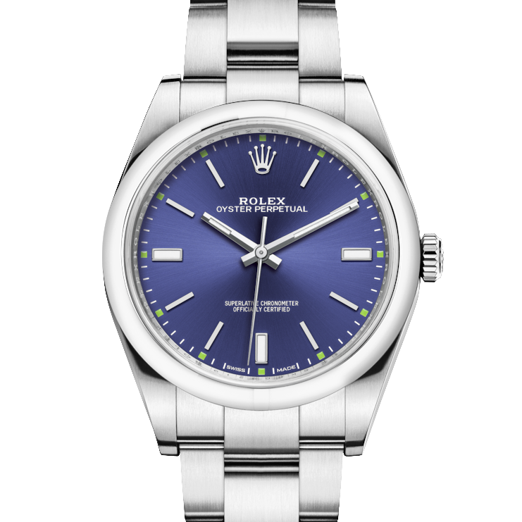 Rolex Oyster Perpetual 114300 39mm Stainless Steel w/ Blue Dial on an Oyster Bracelet - UNUSED