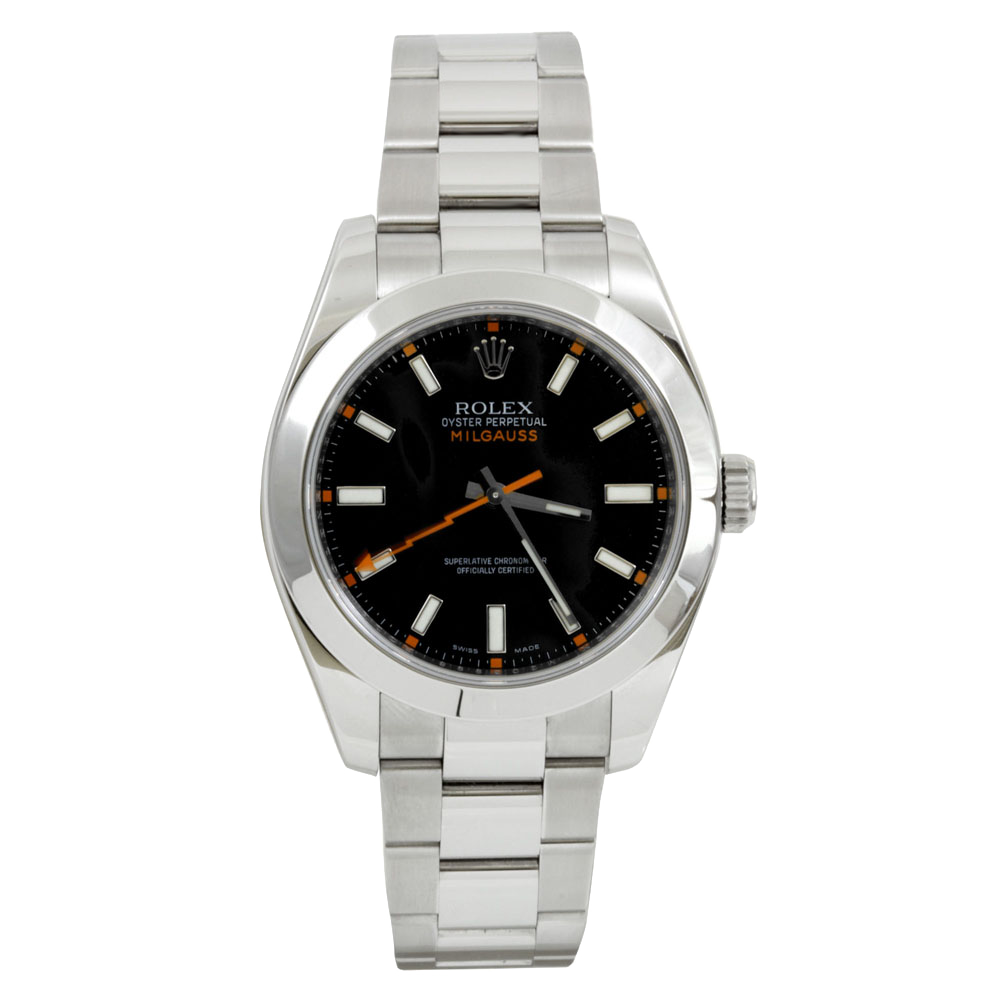Rolex Milgauss 116400 - Black Dial - Stainless Steel - 40mm - Pre-Owned
