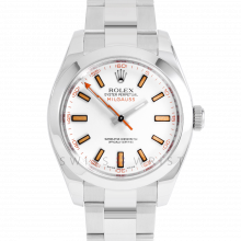 Rolex Milgauss 116400 - White Dial - Stainless Steel - 40mm - Pre-Owned