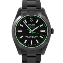 Rolex Milgauss 116400 - Black Dial - Stainless Steel with Black DLC/PVD Coating - 40mm - Pre-Owned