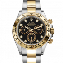 Rolex Daytona 116503 Black Diamond Dial 18K Yellow Gold & Stainless Steel - Oyster Bracelet - UNUSED