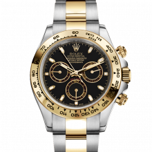 Rolex Daytona 116503 Black Dial 18K Yellow Gold & Stainless Steel - Oyster Bracelet - UNUSED