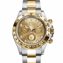 Rolex Daytona 116503 Champagne Diamond Dial 18K Yellow Gold & Stainless Steel - Oyster Bracelet - UNUSED