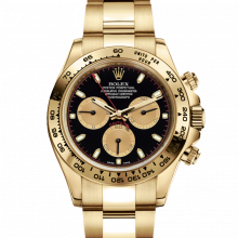 Rolex Daytona 116508 Black Paul Newman Dial 18K Yellow Gold - Oyster Bracelet - UNUSED