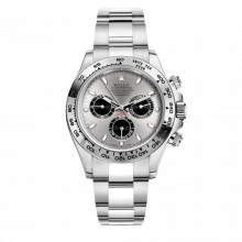 Rolex Daytona 116505 Steel Dial - 18K White Gold 40mm Case - Oyster Bracelet - UNUSED