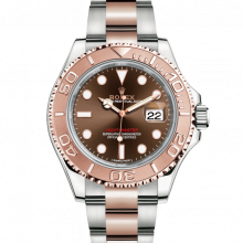 Rolex Yacht-Master 116621 Chocolate Dial 40mm 18K Rose Gold & Steel - Oyster Bracelet - UNUSED