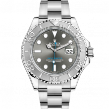 Rolex Yacht-Master 116622, Dark Rhodium Dial 40mm Platinum & Stainless Steel Watch on an Oyster Bracelet - UNUSED