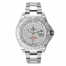 New Rolex Mens 116622 Yachtmaster Watch - Platinum Dial - Platinum Bezel - Oyster BandPre-Owned Rolex Mens 116622 Yachtmaster Watch - Platinum Dial - Platinum Bezel - Oyster Band