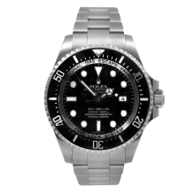 Pre-owned Rolex Mens Sea Dweller DEEPSEA Watch - Stainless Steel Black Dial 116660 44MM  Model