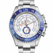 Rolex Yacht-Master II 116680 Stainless Steel 44mm Case, Cerachrom / Ceramic Blue Bezel UNUSED