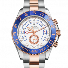 Rolex Yacht-Master II 116681 18K Rose Gold & Stainless Steel 44mm Case, New Style Rose Gold Hands - UNUSED
