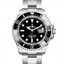 Rolex 126600 Sea Dweller 50th Anniversary Stainless Steel 43mm Case - Cerachrom / Ceramic Bezel - Oyster Bracelet - UNUSED