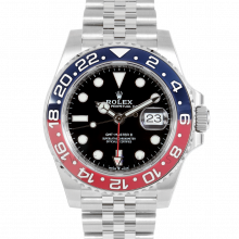 Rolex 126710 BLRO GMT-Master II Stainless Steel 40mm, Blue & Red Cerachrom / Ceramic Bezel on an Jubilee Bracelet - UNUSED