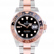 Rolex CHNR GMT-Master II 126711 - Stainless Steel & Rose Gold - Brown & Black Root Beer Ceramic Bezel with Box & Papers - UNUSED