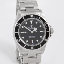 Rolex Submariner 40mm 14060 No Date Stainless Steel w/ Black Dial on Oyster Bracelet - Box Papers