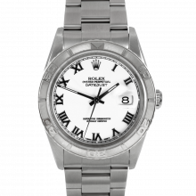 Rolex Datejust 16264 - Stainless Steel - White Roman Dial - Thunderbird Bezel On A Oyster Bracelet - Pre-Owned