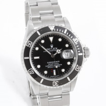 Rolex 16610 Submariner Date 40mm Stainless Steel, Black Dial on an Oyster Bracelet with Box & Paper