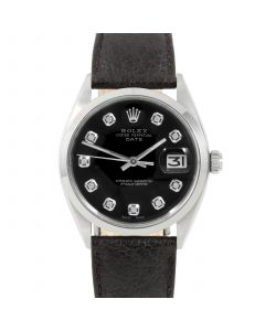 Rolex Date 34 mm Stainless Steel 1500-SS-1244A-CD
