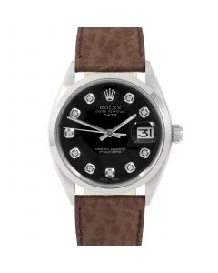 Rolex Date 34 mm Stainless Steel 1500-SS-1244B-CD