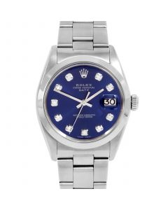 Rolex Date 34 mm Stainless Steel 1500-SS-2241-CD