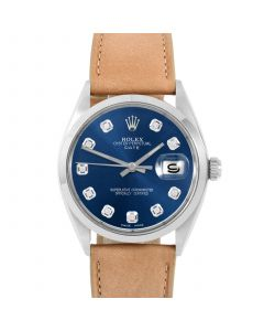Rolex Date 34 mm Stainless Steel 1500-SS-2244F-CD