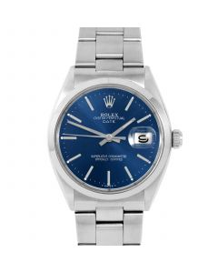 Rolex Date 34 mm Stainless Steel 1500-SS-2441
