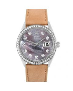 Rolex Date 34 mm Stainless Steel 1500-SS-B5214F-CD