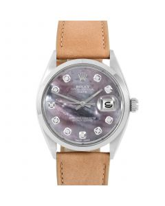 Rolex Date 34 mm Stainless Steel 1500-SS-B5244F-CD