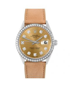 Rolex Date 34 mm Stainless Steel 1500-SS-C214F-CD