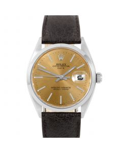 Rolex Date 34 mm Stainless Steel 1500-SS-C444A