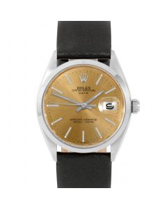 Rolex Date 34 mm Stainless Steel 1500-SS-C4441