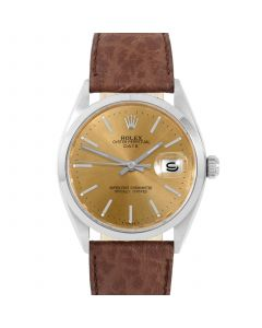 Rolex Date 34 mm Stainless Steel 1500-SS-C444B