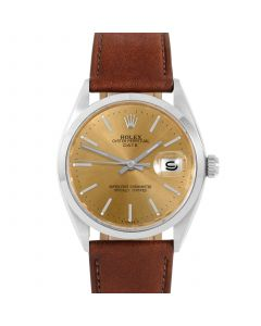 Rolex Date 34 mm Stainless Steel 1500-SS-C444C