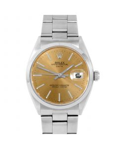 Rolex Date 34 mm Stainless Steel 1500-SS-C441