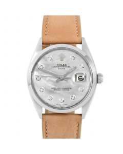 Rolex Date 34 mm Stainless Steel 1500-SS-5244F-CD