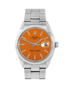 Rolex Date 34 mm Stainless Steel 1500-SS-O441