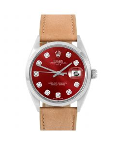 Rolex Date 34 mm Stainless Steel 1500-SS-R244F-CD