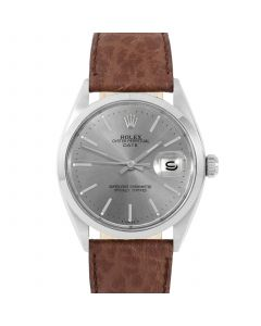 Rolex Date 34 mm Stainless Steel 1500-SS-7444B