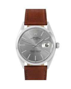 Rolex Date 34 mm Stainless Steel 1500-SS-7444C