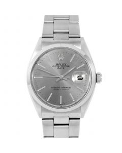 Rolex Date 34 mm Stainless Steel 1500-SS-7441
