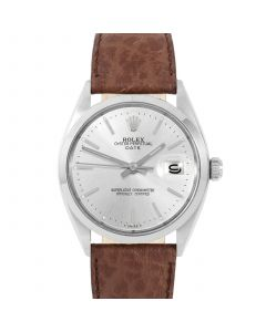 Rolex Date 34 mm Stainless Steel 1500-SS-8444B