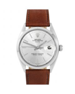 Rolex Date 34 mm Stainless Steel 1500-SS-8444C