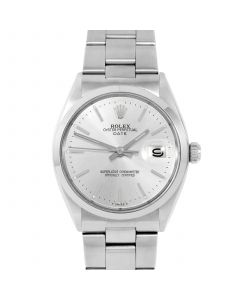 Rolex Date 34 mm Stainless Steel 1500-SS-8441