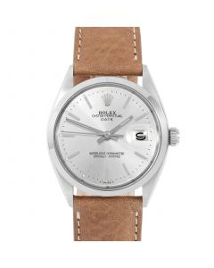 Rolex Date 34 mm Stainless Steel 1500-SS-8444E
