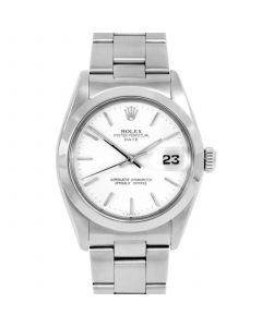 Rolex Date 34 mm Stainless Steel 1500-SS-9441