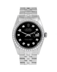 Rolex Datejust 36 mm Stainless Steel 1601-SS-1212-CD