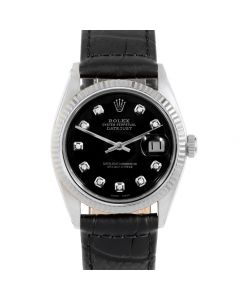 Rolex Datejust 36 mm Stainless Steel 1601-SS-12342-CD