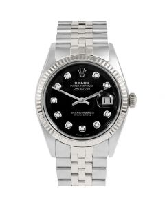 Rolex Datejust 36 mm Stainless Steel 1601-SS-1232-CD